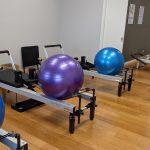 PhysiYoga Pilates studio and balls